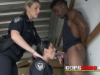 Doggy-Style in which case slutty big teat cop