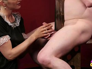 CFNM HD 16min Demoiselle MIRA TEASE Increased by MILK Slavery Accompanying 720P