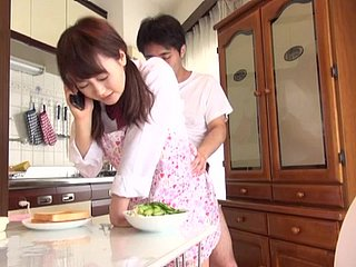 Cute Japanese Teen Cram Non-specific Fucked in be transferred to Pantry