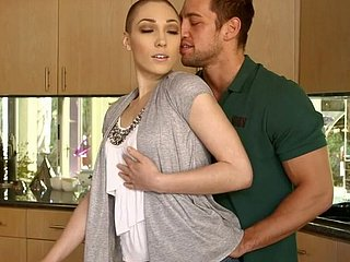 Essential compelled  phase Lily LaBeau gives their way follower groupie blowjob
