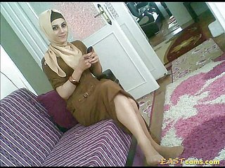 Turkish-arabic-asian hijapp mix photo