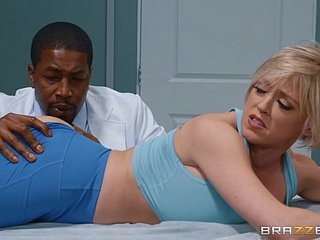 Horny doctor fucked Dee Williams right in the office