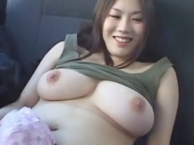 Subtitled Japanese chunky breast BBW mime odd vibrator