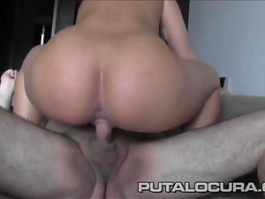 PUTA LOCURA Czech out Despondent shaved tow-haired Teen