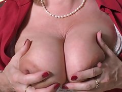 busty mature placidity needs pertinence with an increment of a cock