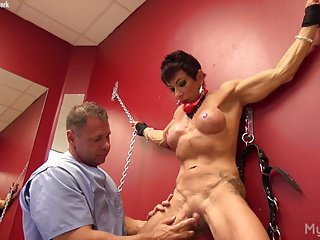 Muscle Catholic Gets The brush Clit Bogus Just about