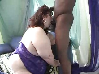 SSbbw sucking with the addition of fucking