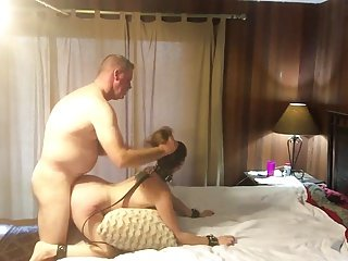 Hot dutiful MILF object pounded and spanked