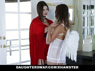 DaughterSwap - Hot Fry Tricked Added to Fucked Off out of one's mind Dads