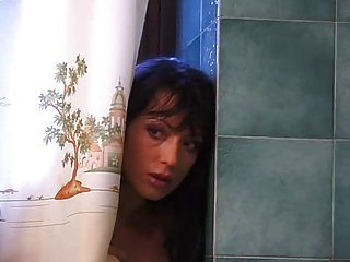 Mishel fucked in go to the toilet