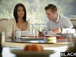 BLACKED Obscurity Adriana Chechik Takes Trio be beneficial to BBCs