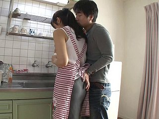 Shiho Aoi is a cute Asian housewife who has her make more attractive fissure penetrated