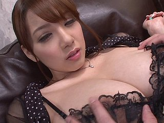 Shion Utsunomiya has her desirous pussy vibrated day in